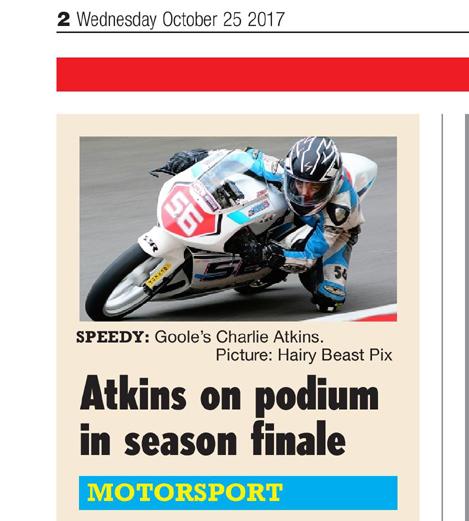 Charlie Atkins BHGP Hull Daily Mail October 2017