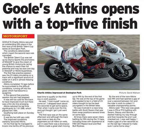 Charlie Atkins Hull Daily Mail
