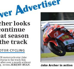 Jake Archer Andover Advertiser