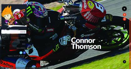 Connor Thomson website