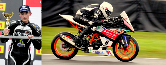 Myles Wasley Oulton Park May 2016
