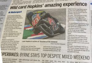 Luke Hopkins Sittingbourne Messenger