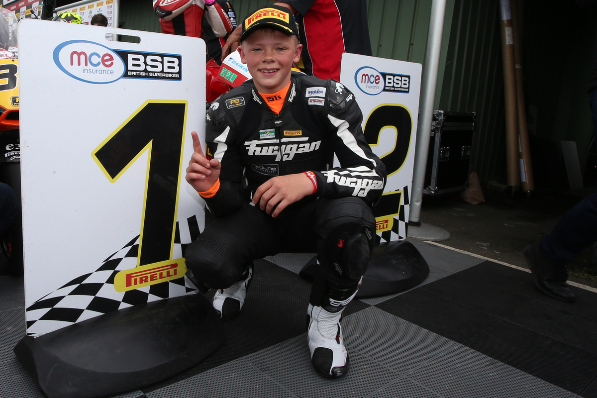 Charlie Nesbitt smashed the lap record at Knockhill