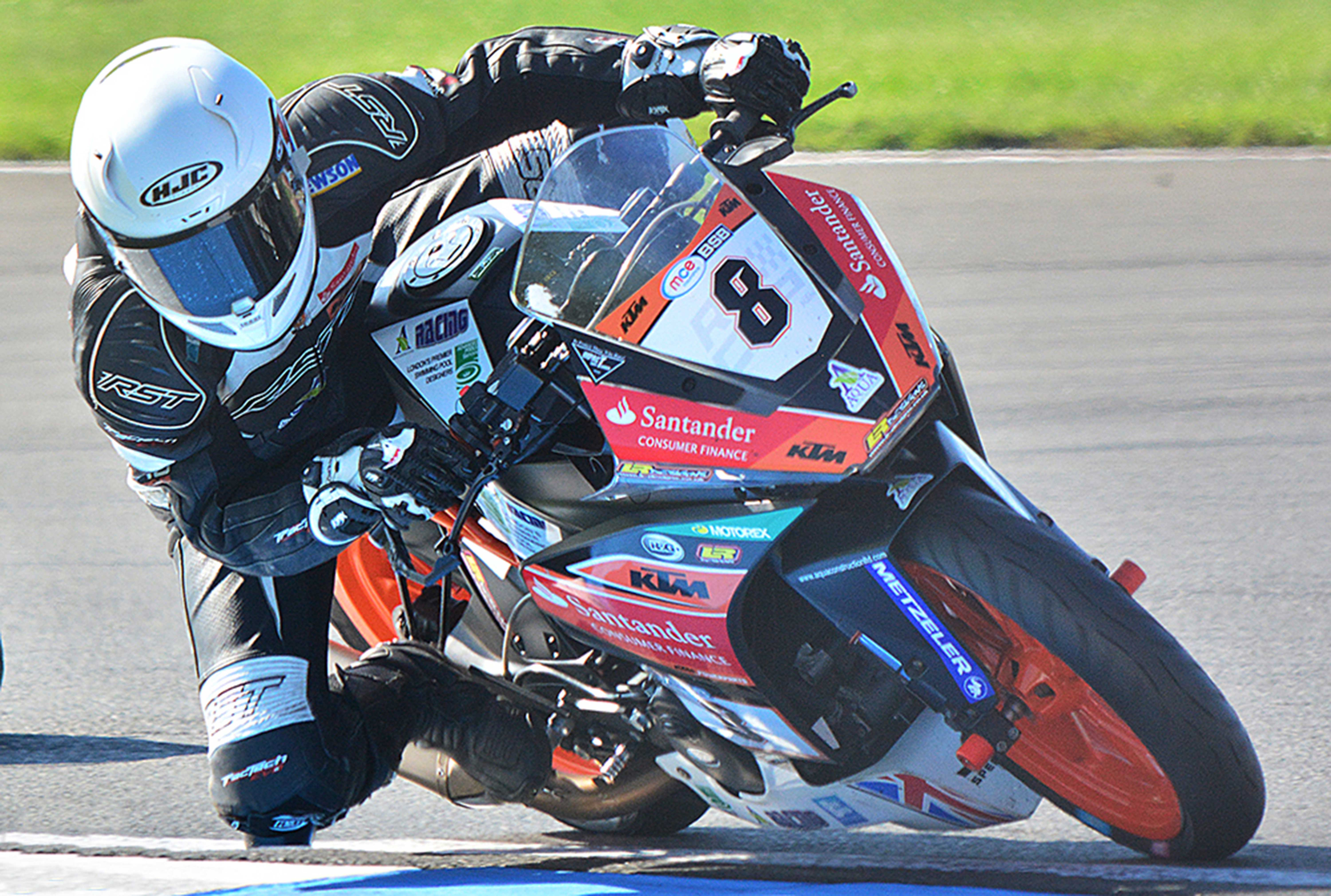 Myles Wasley KTYM Cup Donington Park 2016