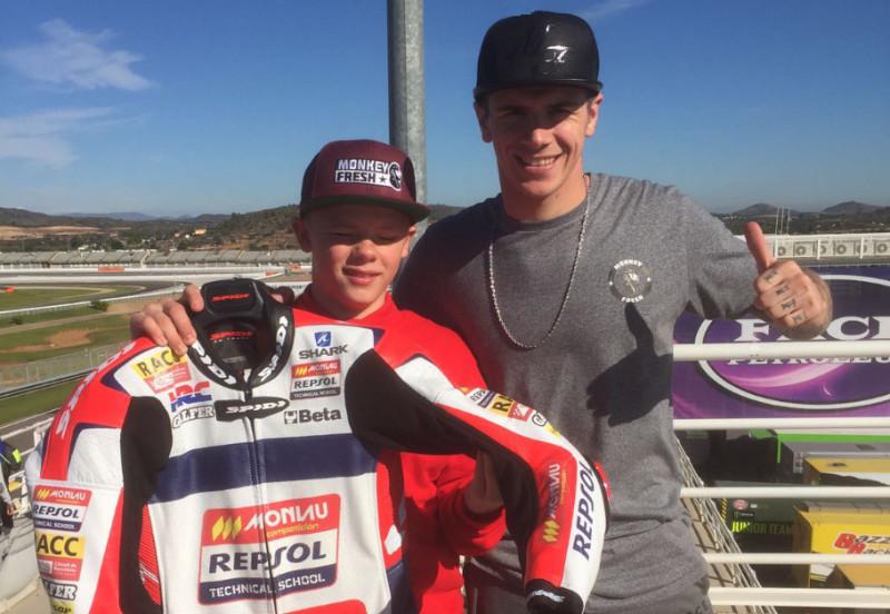 Charlie Nesbitt Moto3 JWC Valencia 2016