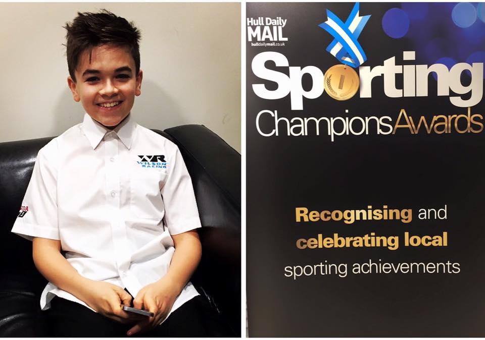 Charlie Atkins Hull Daily Mail Sporting Champions Award 2017