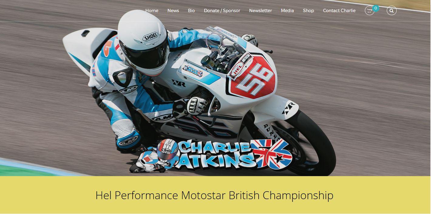 Charlie Atkins 56 website