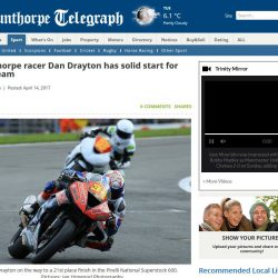 Dan Drayton Scunthorpe Telegraph 14 April 2017