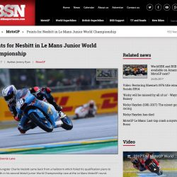 BikeSportNews.com Charlie Nesbitt Moto3 JWC May 2017