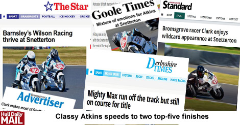 wilson racing snetterton news reports
