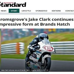 Jake Clark Bromsgrove Advertiser 2017