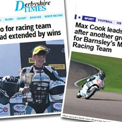 Wilson Racing newspaper reports Thruxton 2017