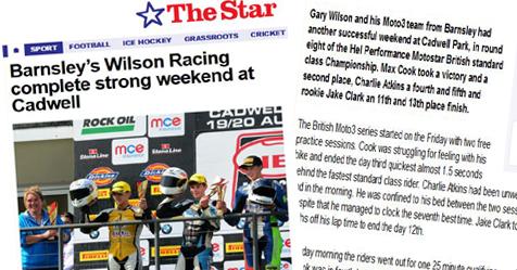 Wilson Racing The Star Cadwell Park 2017
