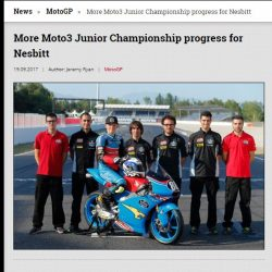 Charlie Nesbitt Moto3 JWC 2017