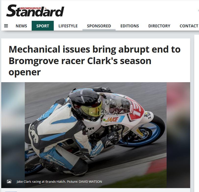 Jake Clark Motostar Brands Hatch Indy 2018 Bromsgrove Standard