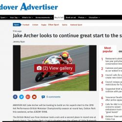 Jake Archer Andover Adveritser 02 May 2018