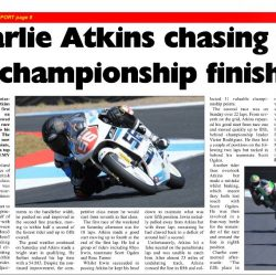 Charlie Atkins Motostar Knockhill 2018