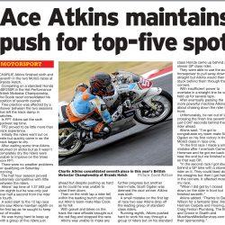 Charlie Atkins Motostar Brands Hatch July 2018