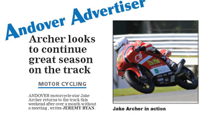Jake Archer Andover Advertiser